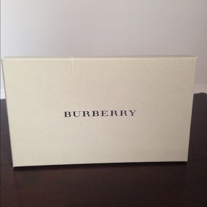 Burberry Accessories - Navy Burberry Scarf